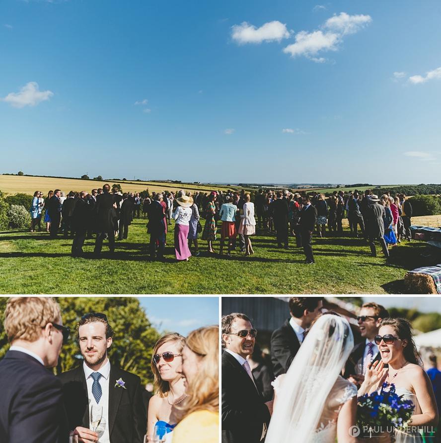 Summer weddings in Dorset