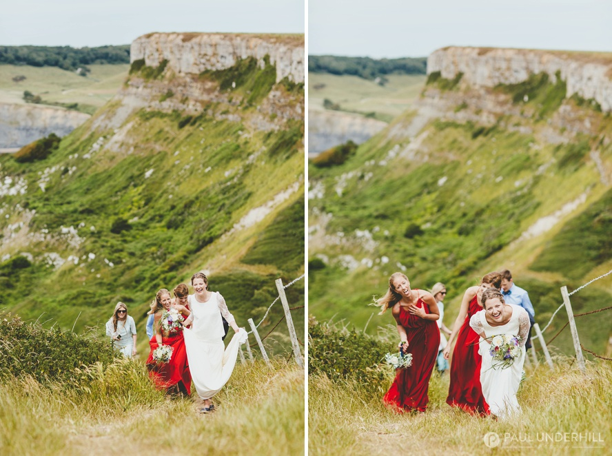 Wedding photographers in Dorset