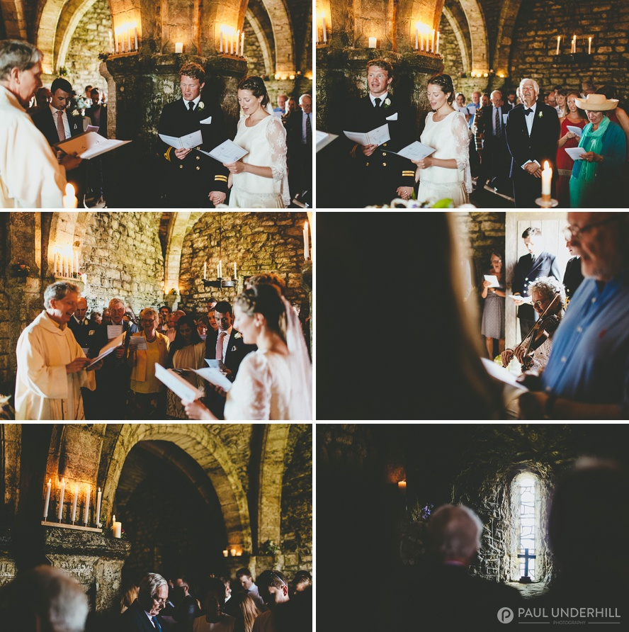 Wedding photography St Aldhelms Chapel