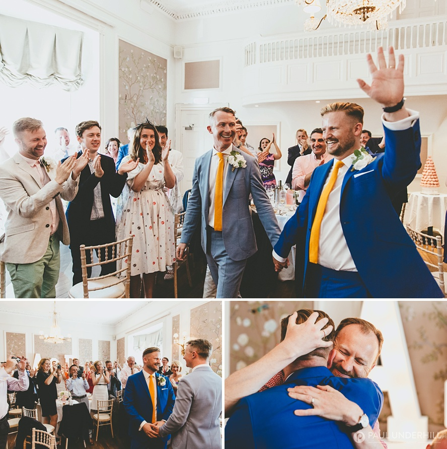 Wedding photojournalism gay wedding