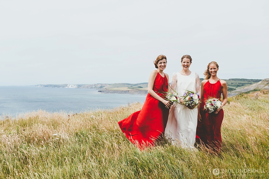 Wedding portraits Jurassic Coast Dorset
