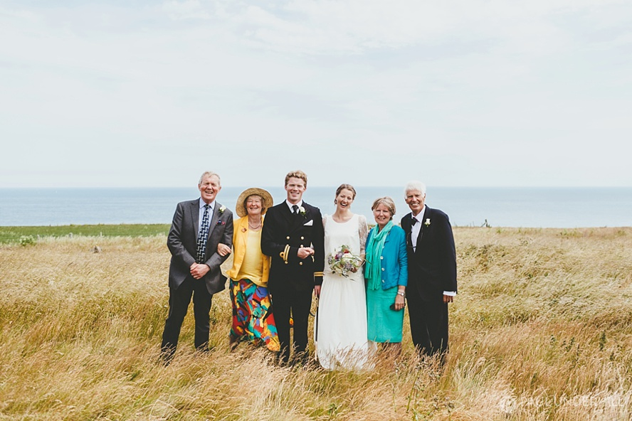 Wedding portraits St Aldhelms Head