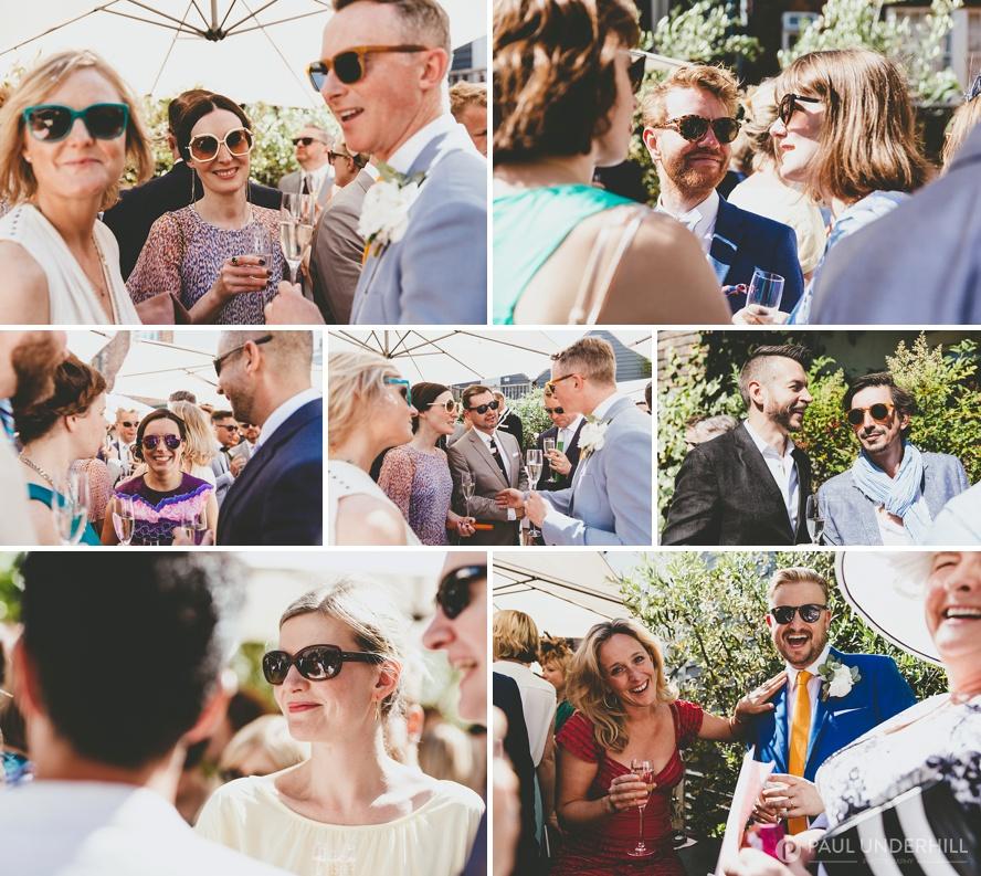 Wedding reception George Hotel Rye