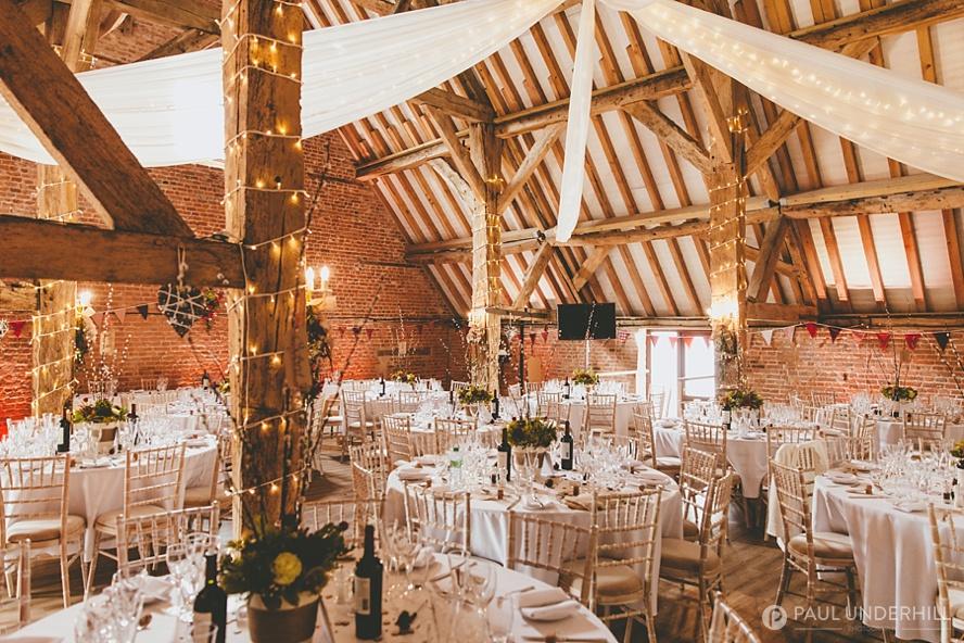 Barford Park farm wedding reception