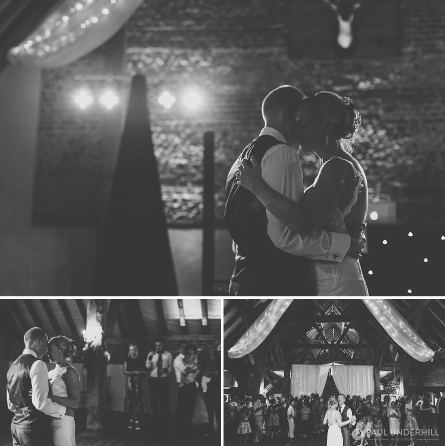 Barford Park wedding first dance