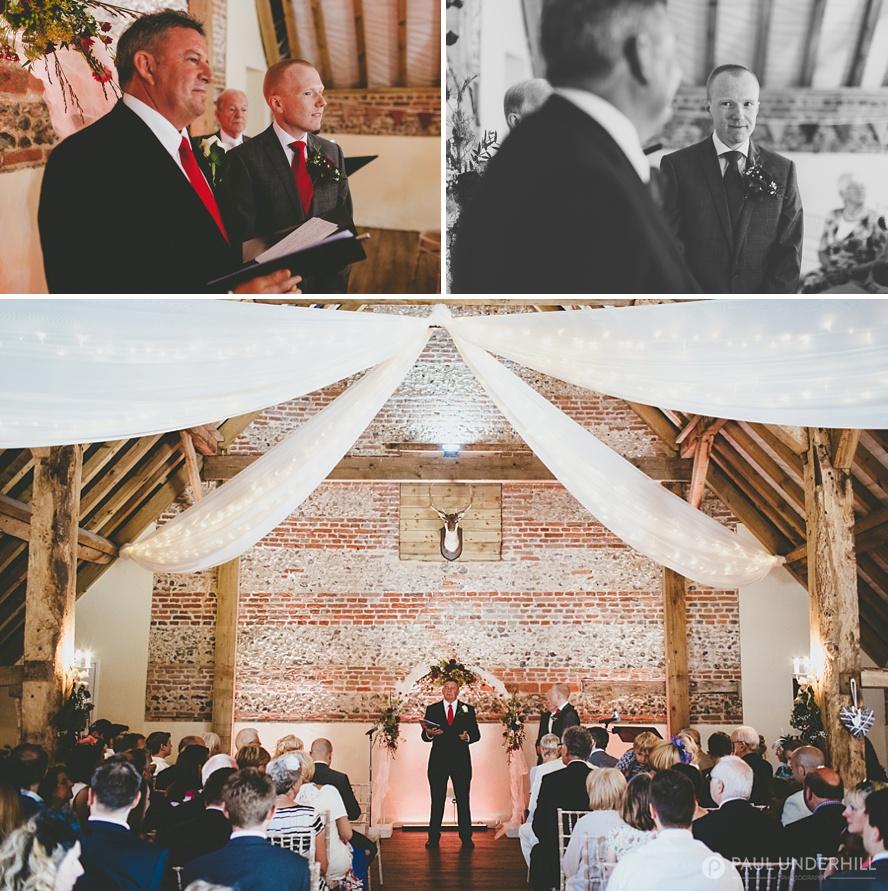 Barn wedding in Salisbury Wiltshire