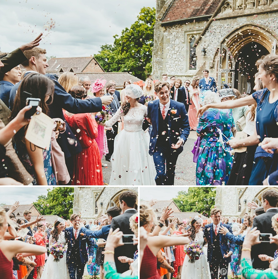 Confetti photography