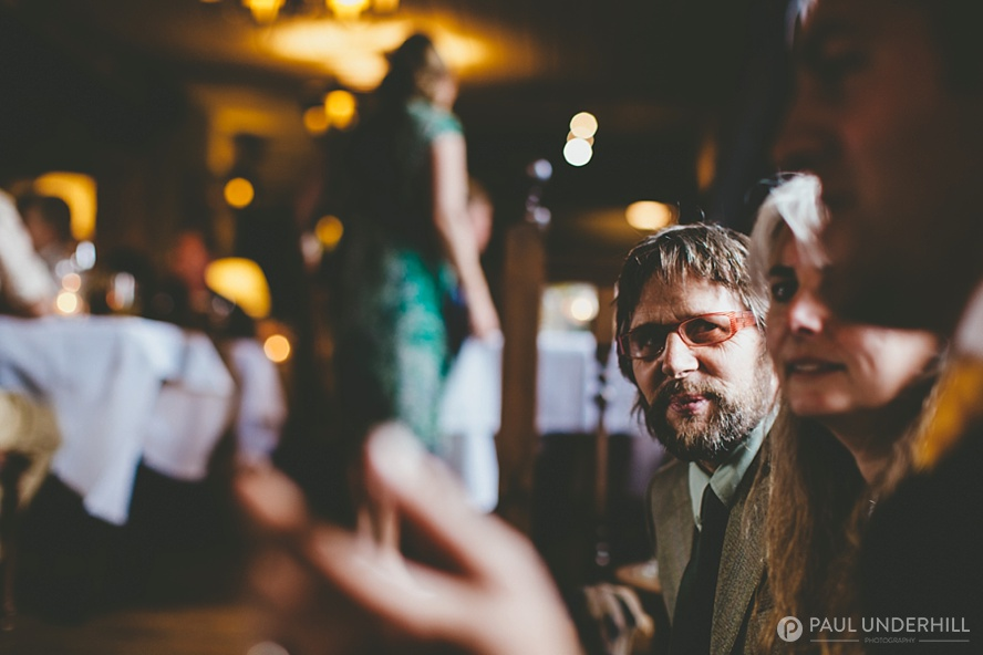 Creative documentary photography of wedding