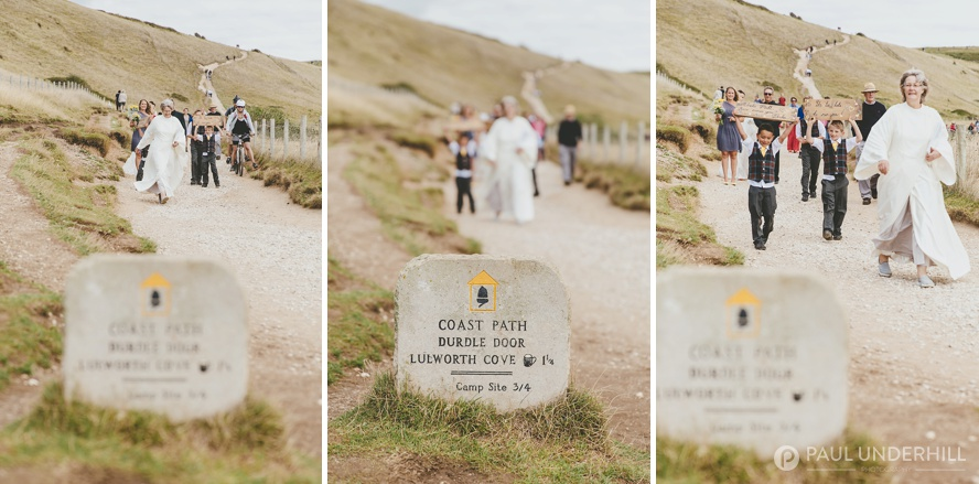 Creative reportage wedding photos