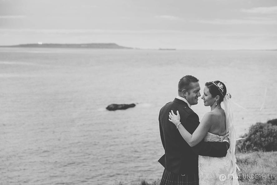 Creative wedding portraits in Dorset