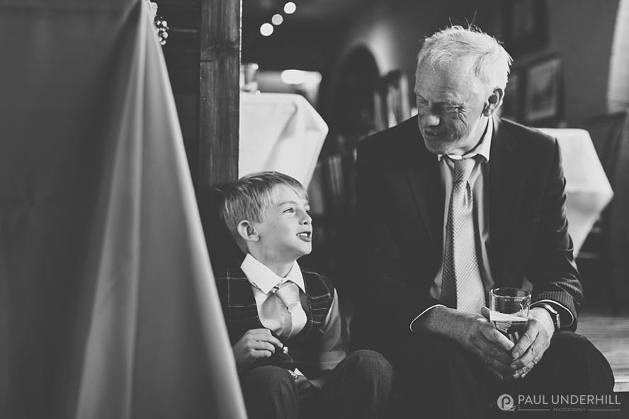Documentary photography wedding reception