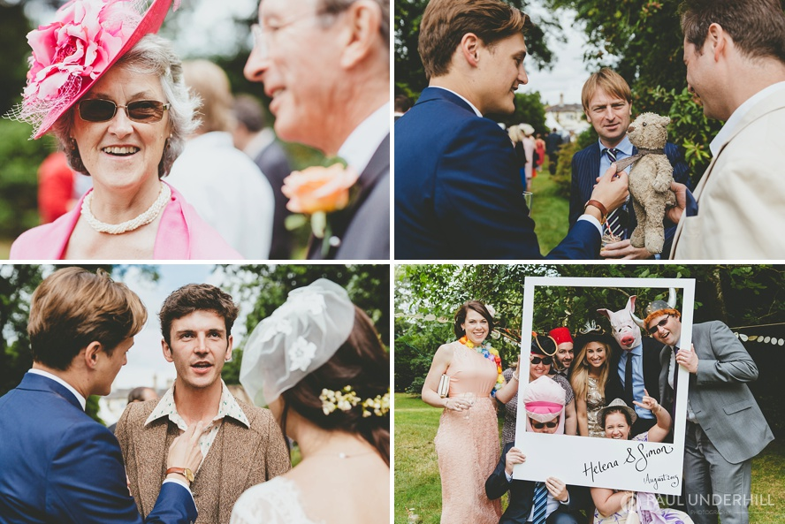 Dorset photography wedding reception