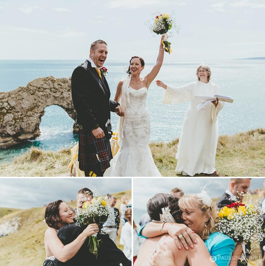 Dorset summer outdoor wedding