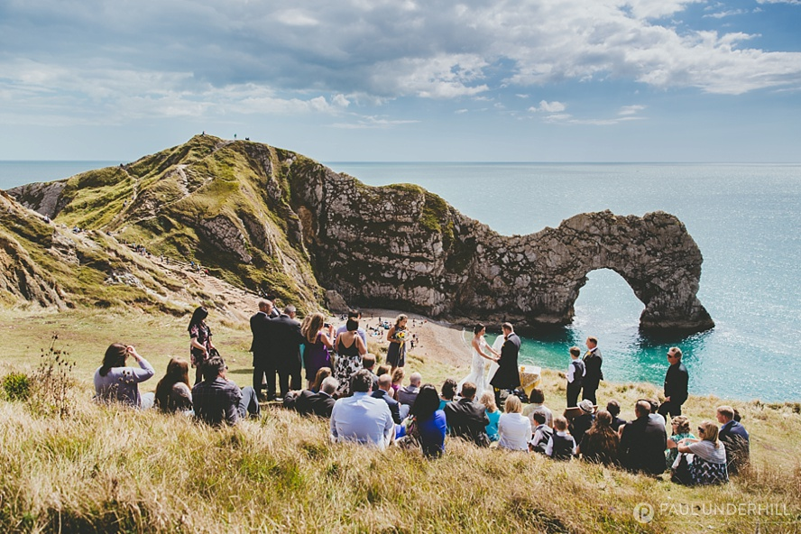 Durdle Door wedding in Dorset & Destination wedding photography | Durdle Door Dorset | Jana+Matt ...