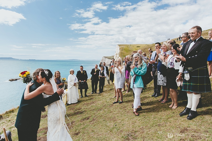 Durdle Door wedding photography