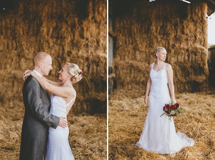 Farm wedding portraits