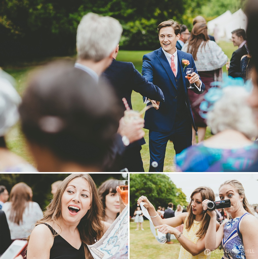Fun wedding moments captured