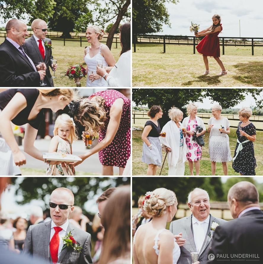 Relaxed farm wedding in Salisbury