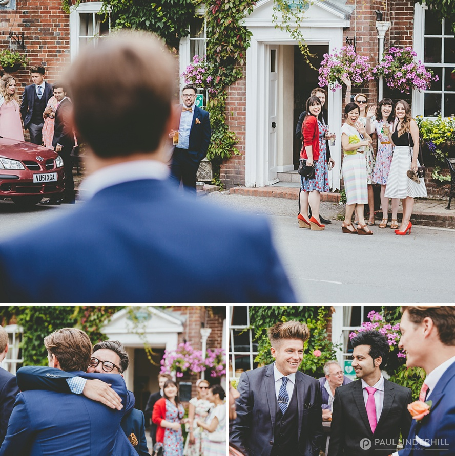 Reportage photography Child Okeford wedding