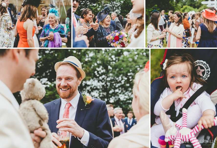 Reportage photography of wedding reception