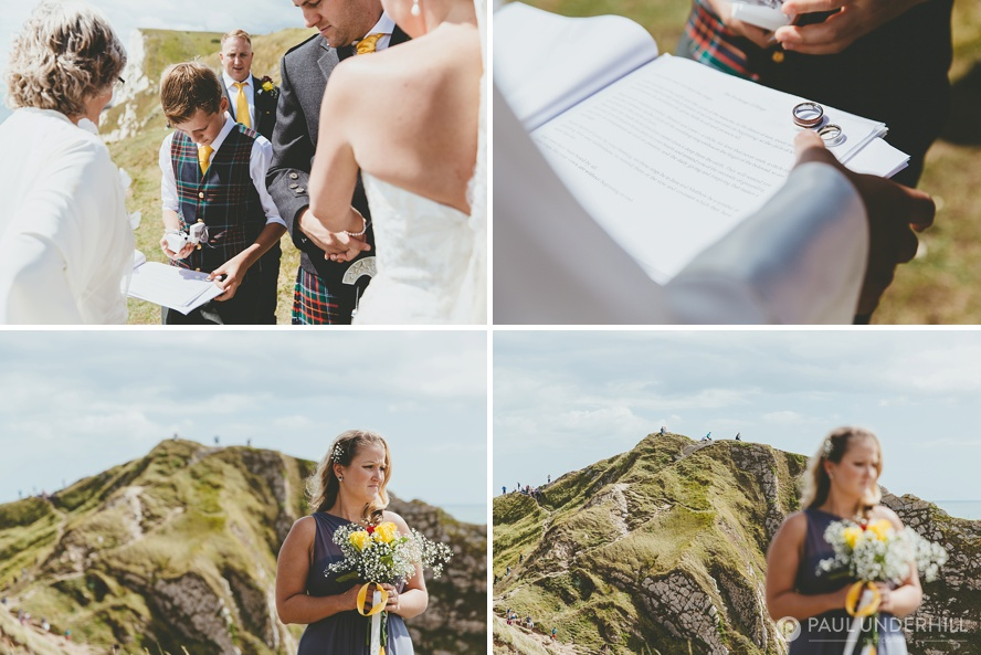 Reportage wedding photography in Dorset