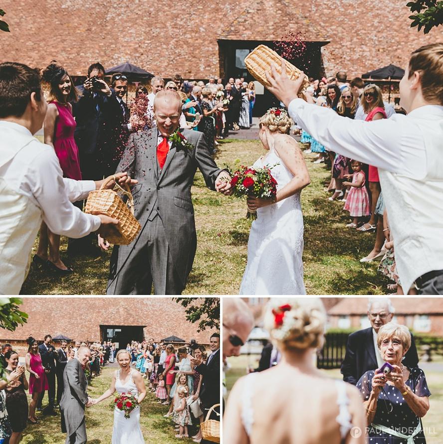 Salisbury Barford Park wedding