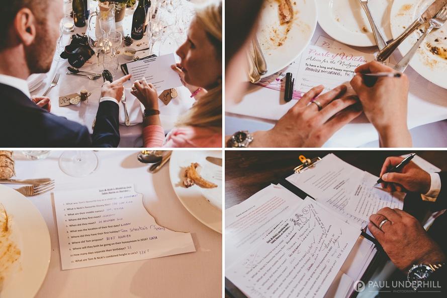 Wedding ideas games