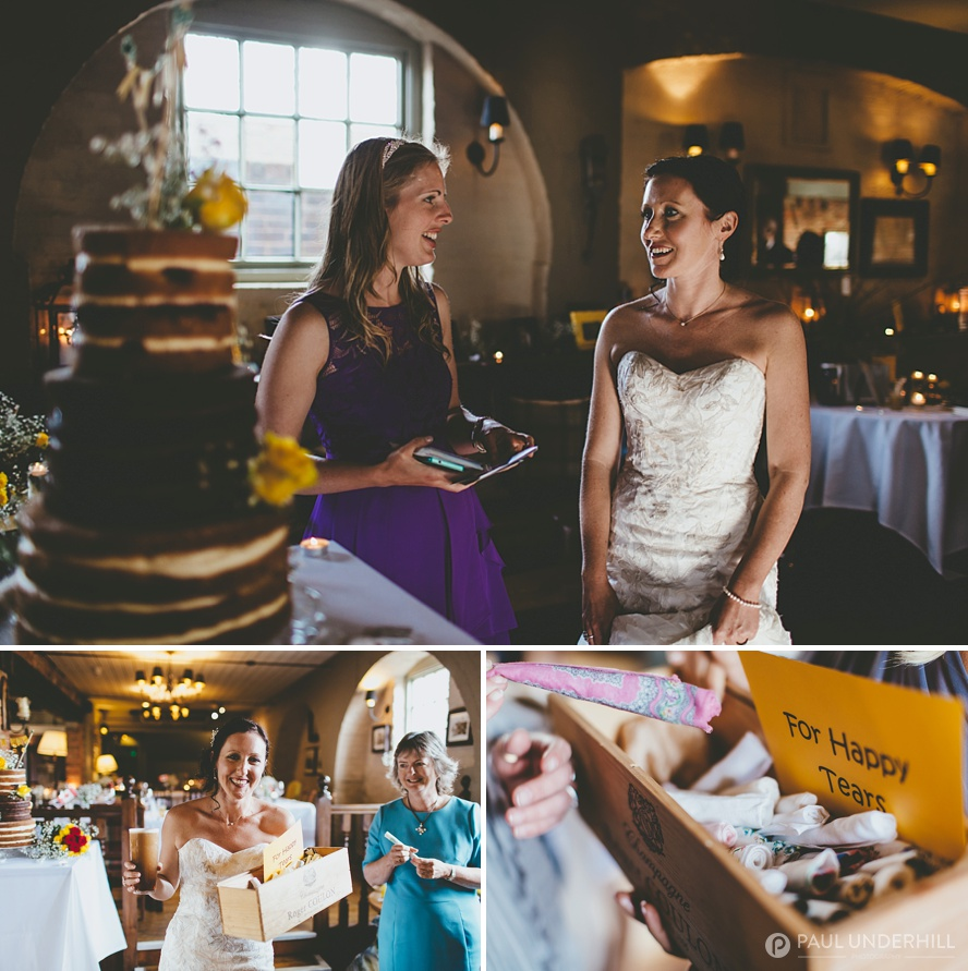 Wedding reception in Poole