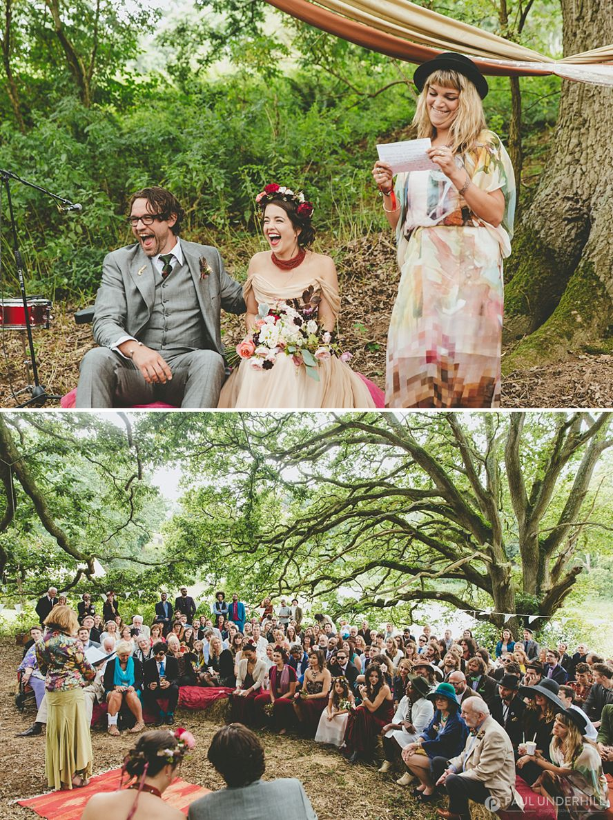 Alternative wedding humanist ceremony