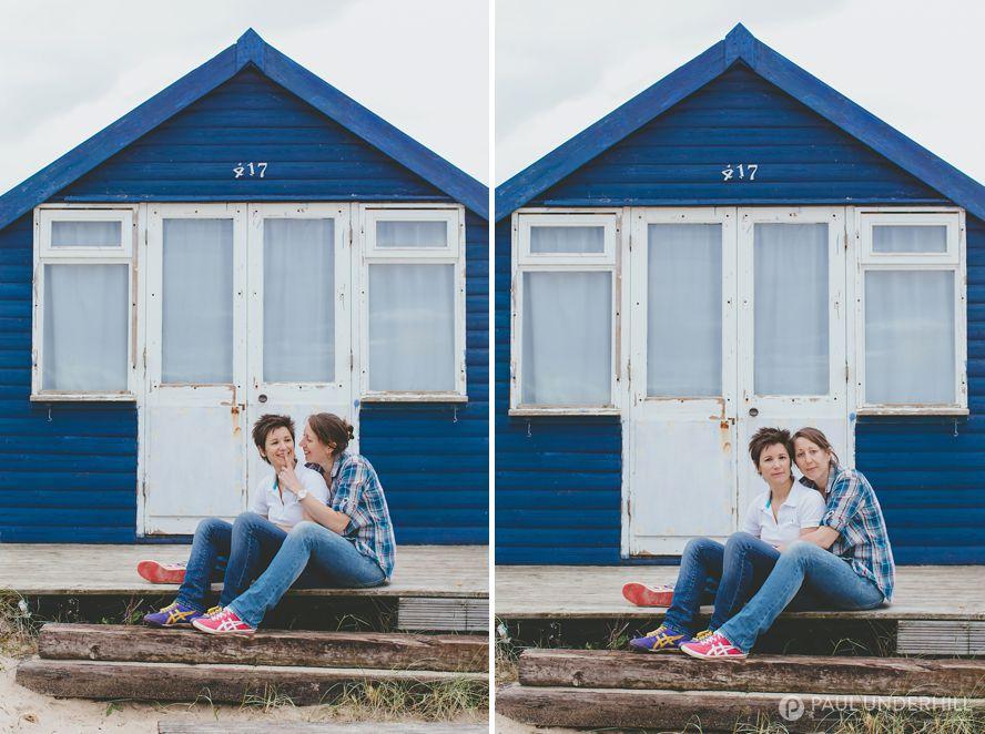 Beach couples shoot Mudeford