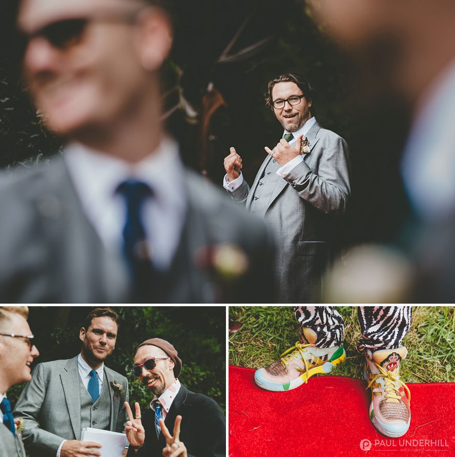 Creative reportage wedding photography