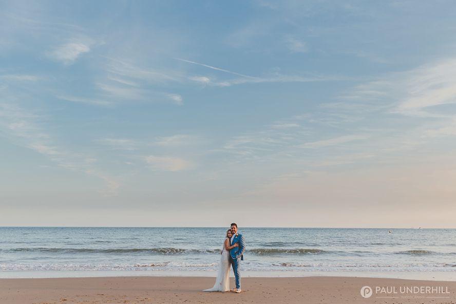 Creative wedding photographers Bournemouth