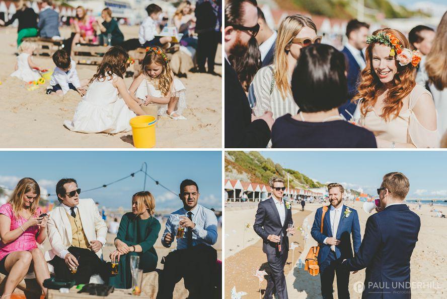 Documentary of wedding reception