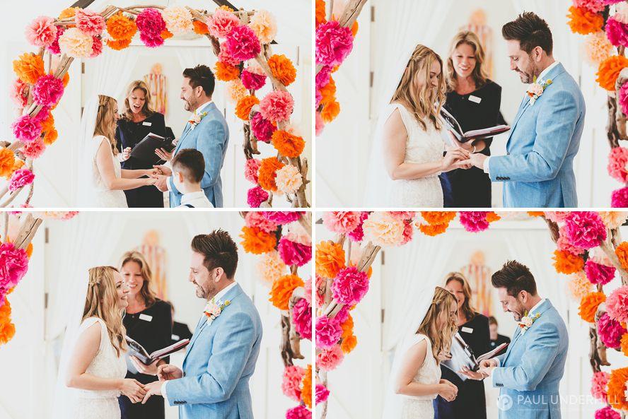 Documentary photography wedding ceremony