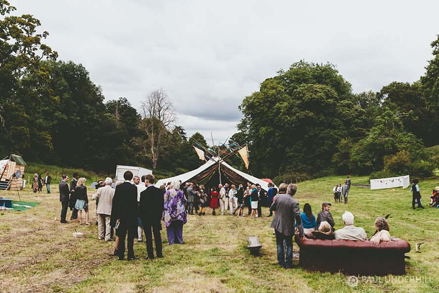 Festival wedding venues in Dorset