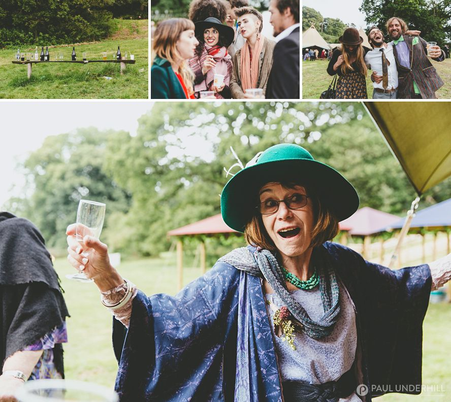Fun moments captured at Dorset wedding
