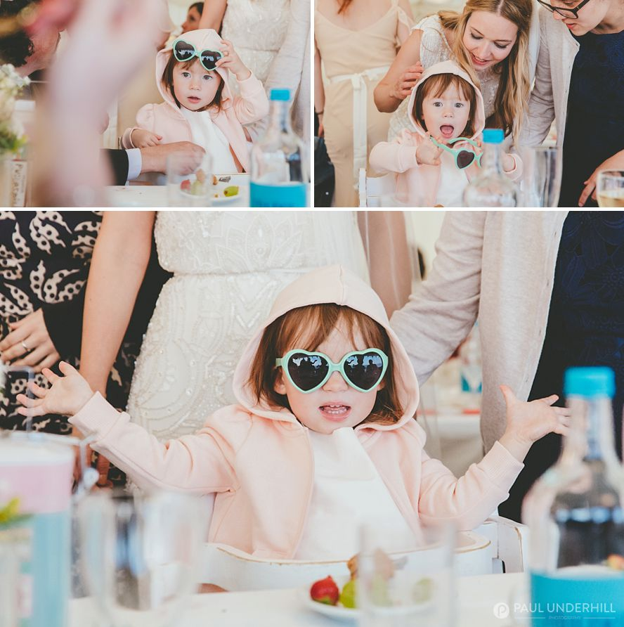 Fun moments captured during wedding