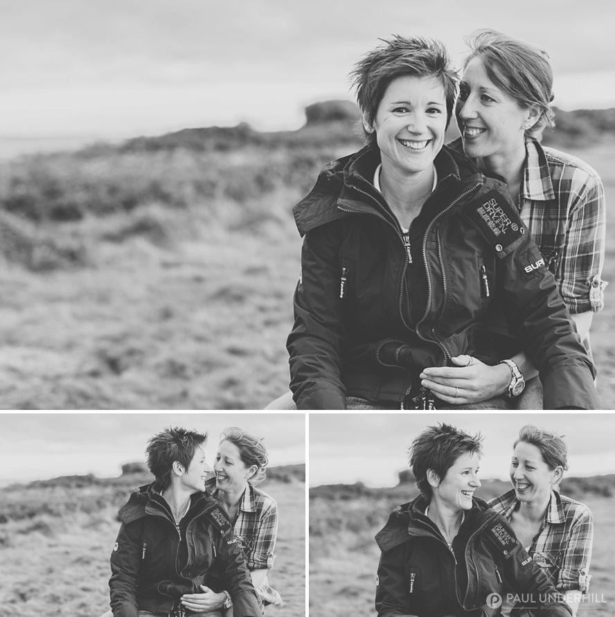 Lesbian couple portraits