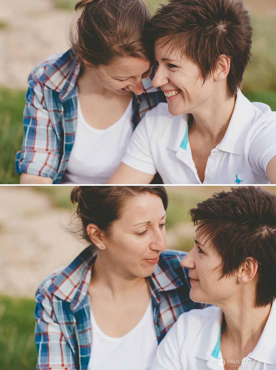 Lesbian same sex couple photography