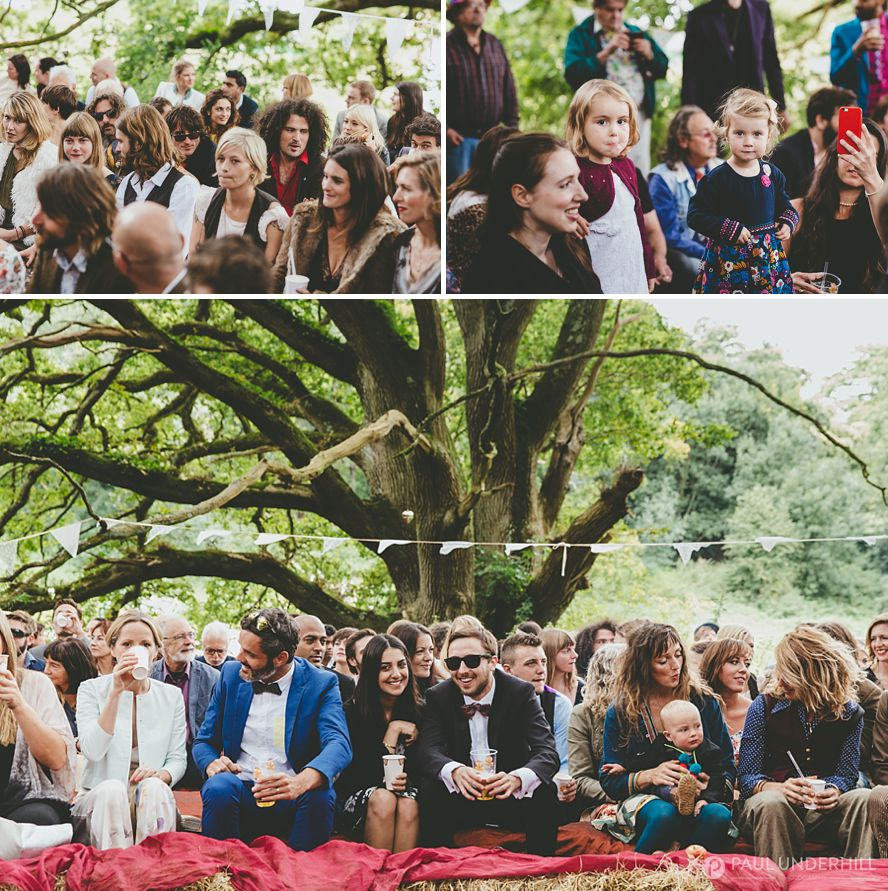 Outdoor alternative wedding