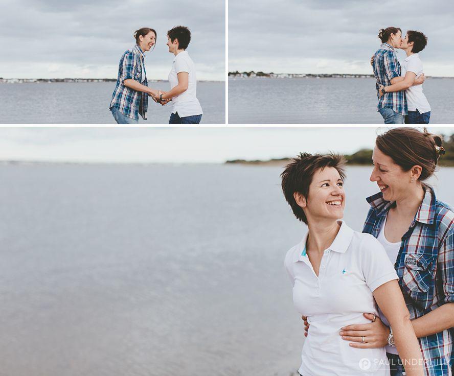 Same sex couples pre wedding photography