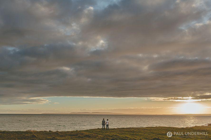 Sunset portraits in Dorset