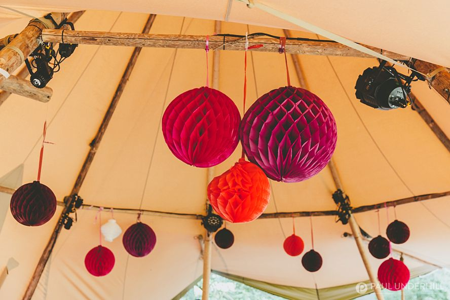 Tipi tent festival wedding ideas