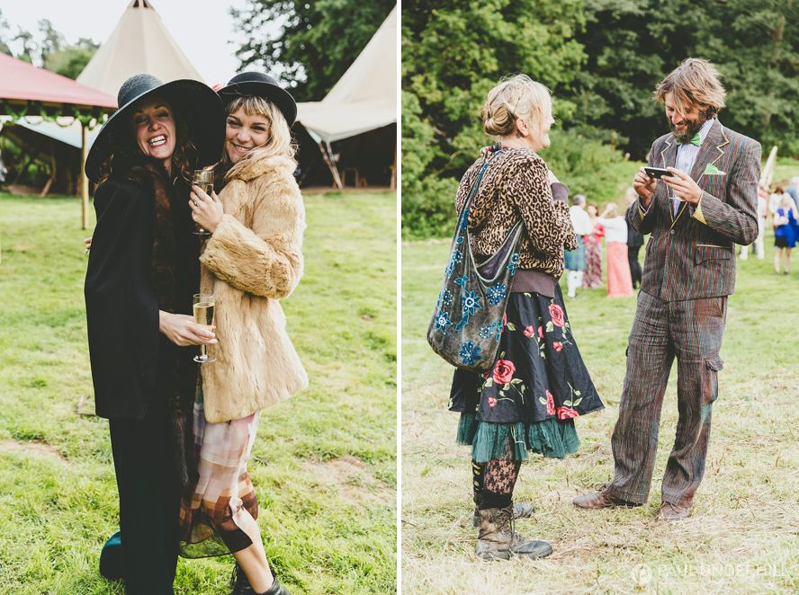 Unusual wedding outfits
