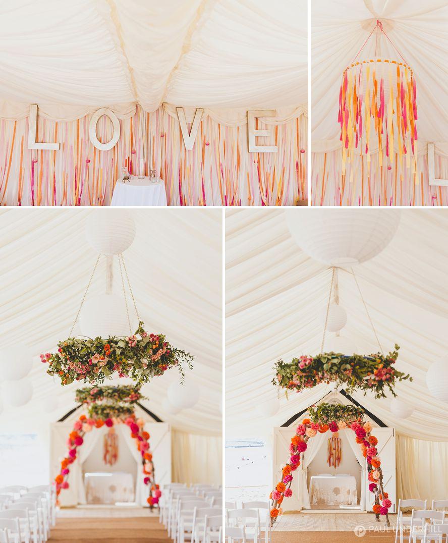 Wedding decoration ideas bright colours