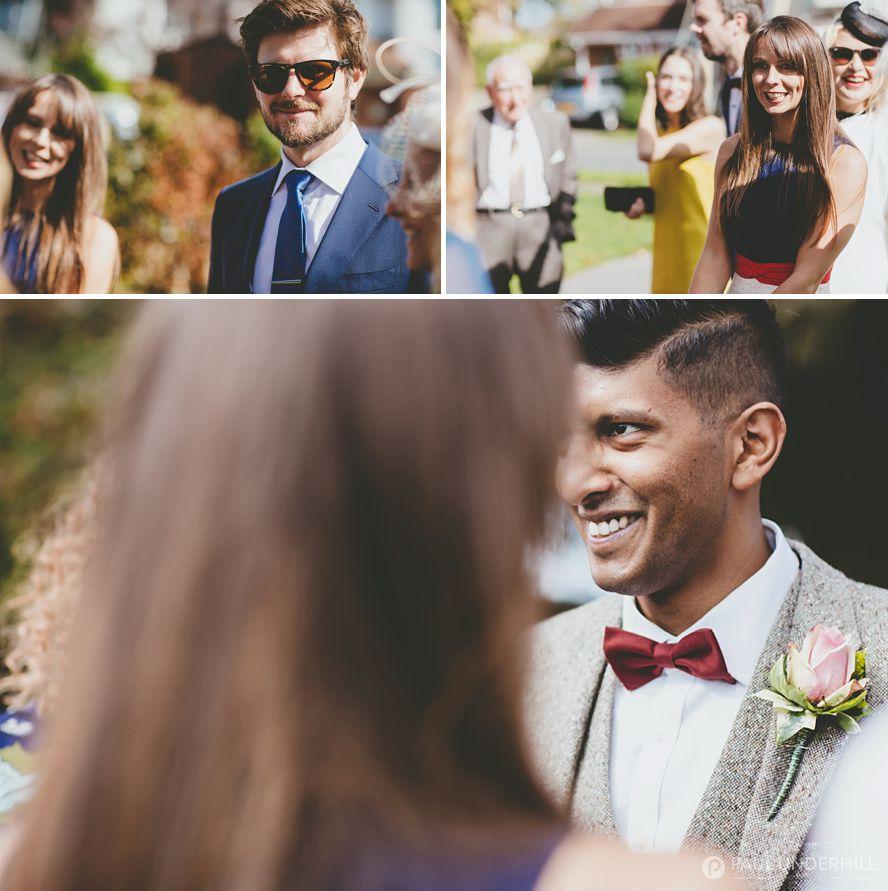 Creative reportage wedding photography