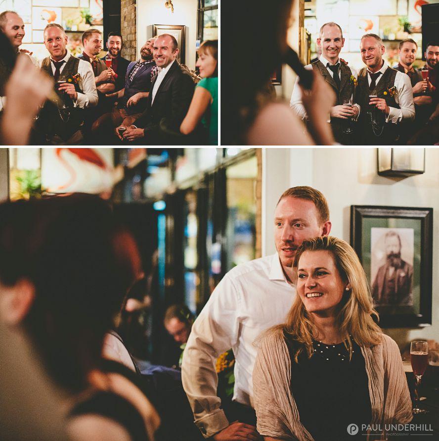 Creative wedding photographers London