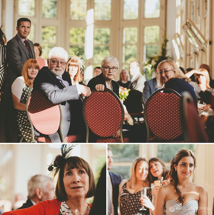 Documentary photography of Highcliffe Castle wedding