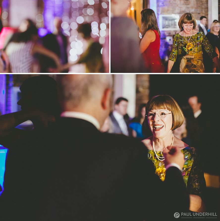 Documentary photography of wedding celebration