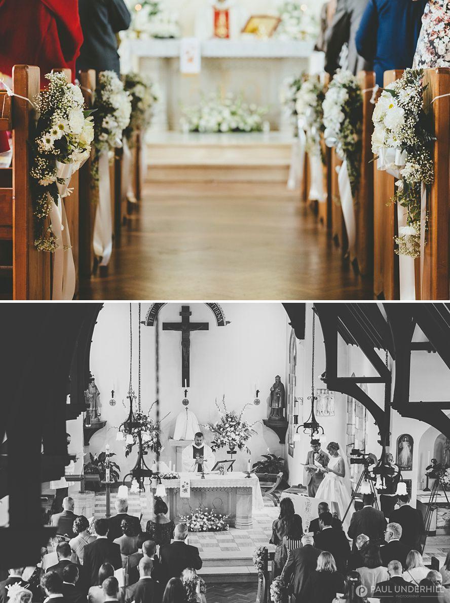 Dorset Catholic church wedding
